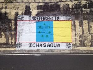 Graffito oberhalb von Adeje (Teneriffa) am 10.11.2014