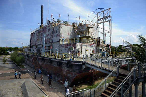 Generatorschiff PTLP Apung 1, Banda Aceh