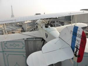 Über den Dächern von Paris herrscht dicke Luft