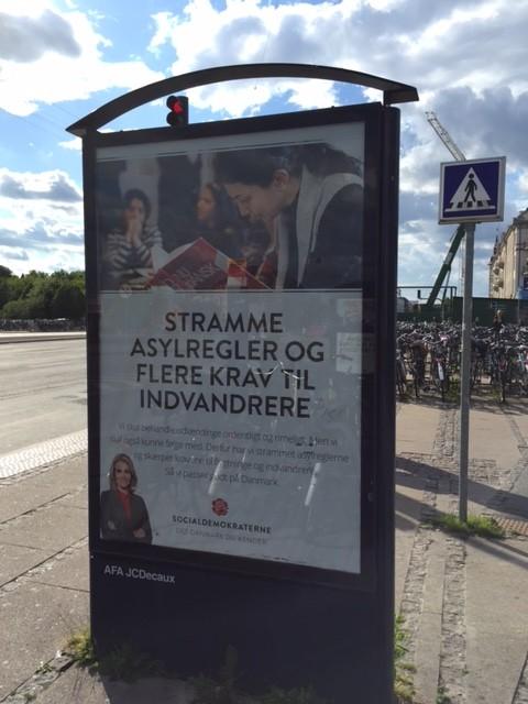 Es mag nach Dänischer Volkspartei klingen, aber hier gehen die Sozialdemokraten mit strafferen Asylgesetzen auf Wählerjagd
