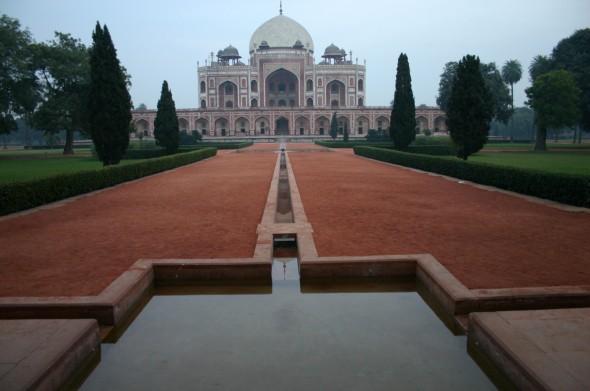 Park_von_Humayuns_Tomb