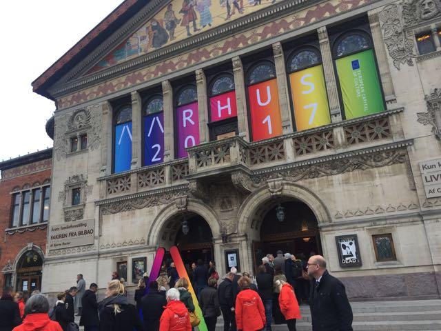 Theater in der Kulturhauptstadt Aarhus (Foto: Bomsdorf)