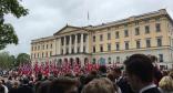 Oslo am norwegischen Nationalfeiertag, 17. Mai 2017 (Foto: Bomsdorf)