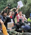 Studenten Demo Taiwan
