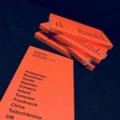 Das neue Magazin der Weltreporter (Foto: Bomsdorf).