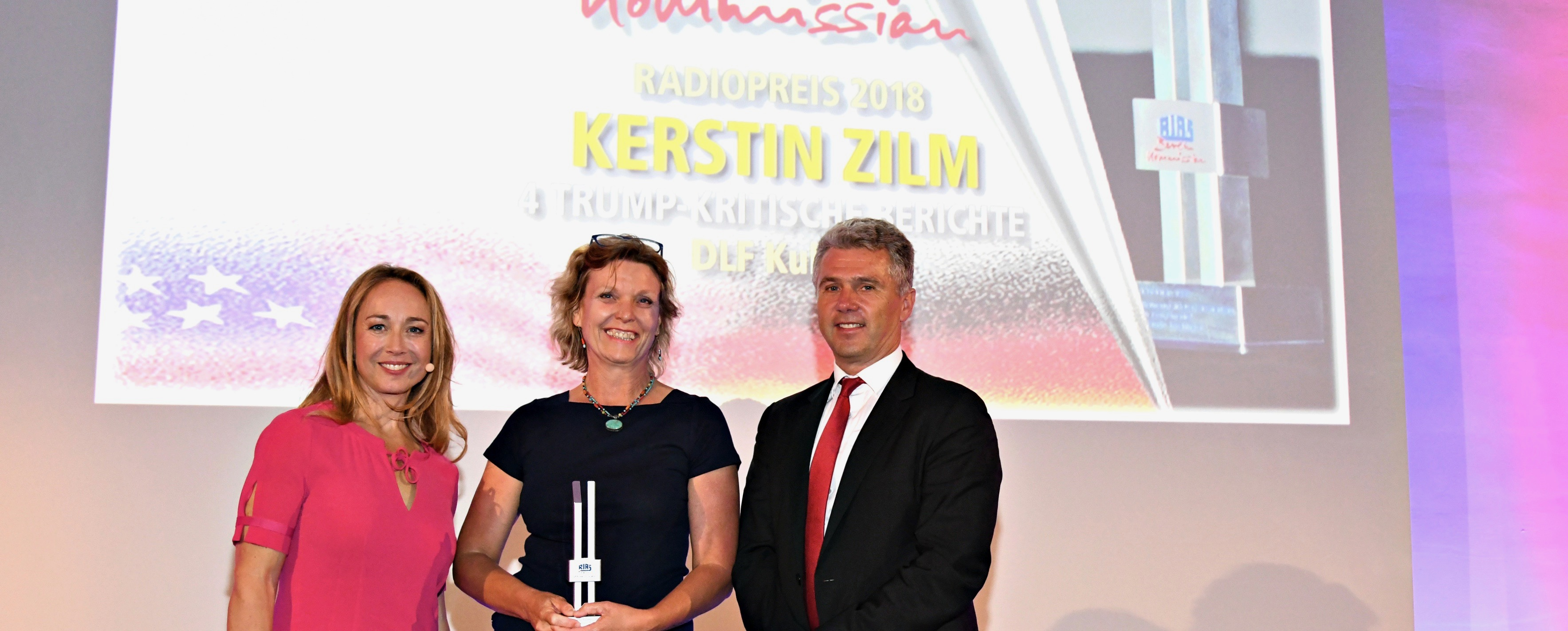 Award Ceremony RIAS Berlin Kommission 17.5.2018