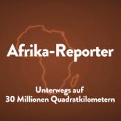 Umriss von Afrika als Titelbild der Afrika-Reporter