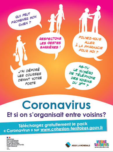 Poster Voisins Solidaires