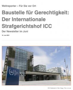 Internationaler Strafgerichtshof ICC