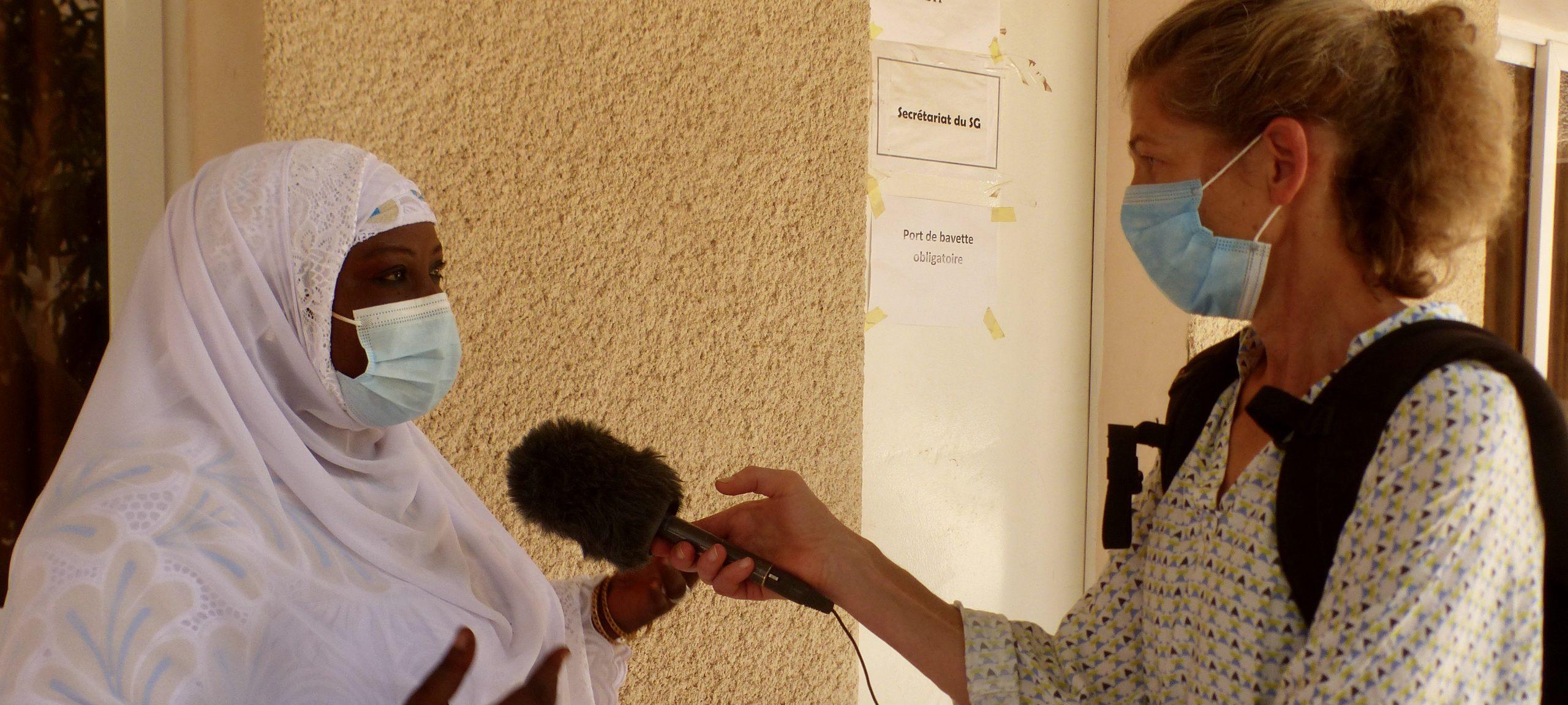 Niger Interview mit der Präfektin von Tillabery 2